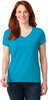 Anvil Ladies Ringspun V-neck