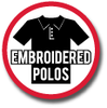 Embroidered Polo Styles