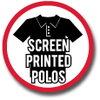 Screen Printed Polos