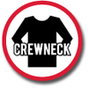 Crewnecks -- sorted by price -- low to high