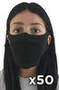 FaceCover-50pk blank SHIPS FREE