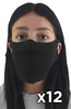 FaceCover-12pk blank SHIPS FREE